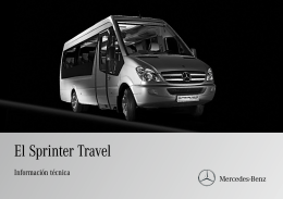 El Sprinter Travel - Mercedes