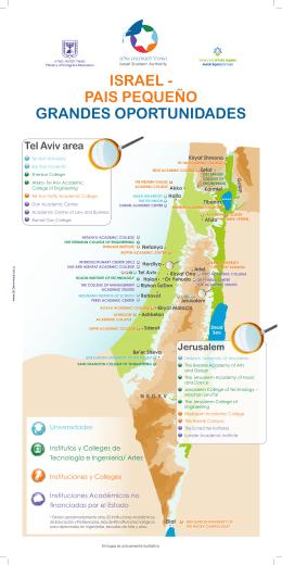 ISRAEL - PAIS PEQUEÑO GRANDES OPORTUNIDADES