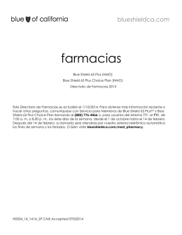 farmacias - Blue Shield