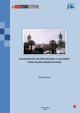 evaluación del peligro asociado a los sismos y efectos