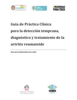 GPC Profesionales de la Salud - Ministerio de Salud y Protección