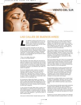 LAS CALLES DE BUENOS AIRES