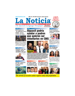 Inmigración - La Noticia - The Spanish