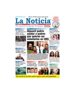 Inmigración - La Noticia - The Spanish