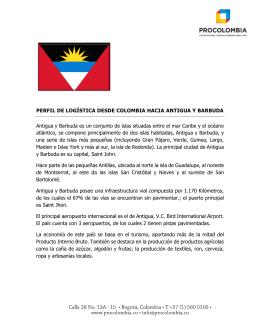 Perfil Logístico de Antigua y Barbuda