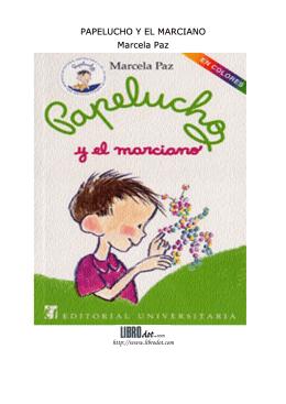 PAPELUCHO Y EL MARCIANO Marcela Paz