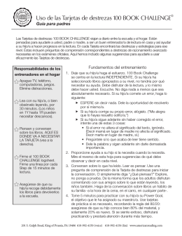 Skills card parent letter -Translation to SPANISH.indd