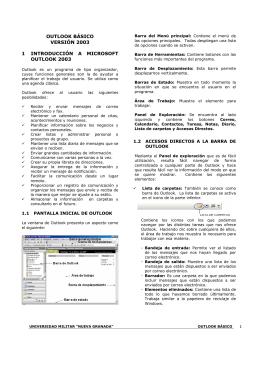 outlook básico versión 2003 1 introducción a microsoft outlook 2003