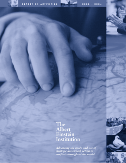 2000-04 Annual Reports - Albert Einstein Institution