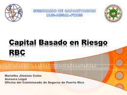 Capital Basado en Riesgo RBC