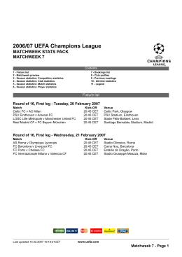 2006/07 UEFA Champions League