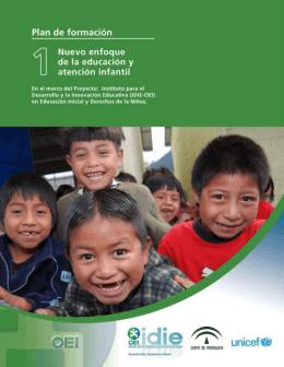 Nuevo enfoque de la educación y atención infantil