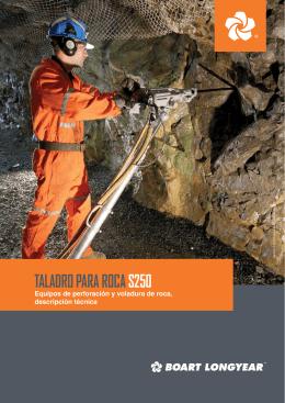 TALADRO PARA ROCA S250