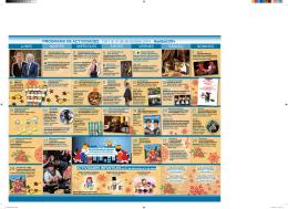 PROGRAMA DE ACTIVIDADES Del 1 al 31 de diciembre 2014