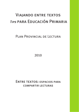 Tips para Educación Primaria - Recursos Educativos Pampeanos