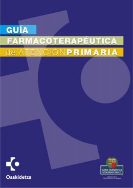 Guía Farmacoterapéutica de Atención Primaria