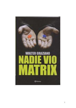 Nadie vio Matrix - República Huesca