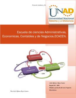 Modulo y protocolo del curso Negocios Electrónicos.