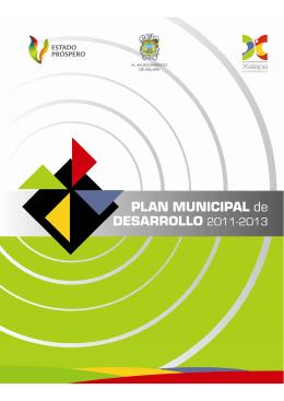 Plan Municipal de Desarrollo 2011-2013