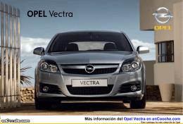 Catálogo del Opel Vectra