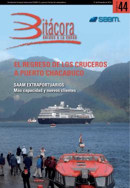 el regreso de los cruceros a puerto chacabuco