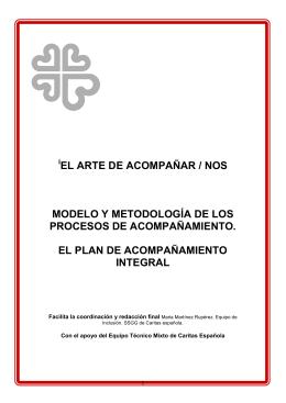 EL ARTE DE ACOMPAÑAR / NOS MODELO Y METODOLOGÍA DE