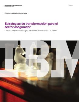 Estrategias de transformación para el sector asegurador