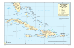 planning map of haiti operatioanal region