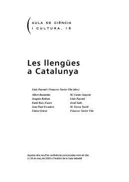 Las lenguas de Asia en Cataluña