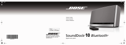 SoundDock®10 Bluetooth®