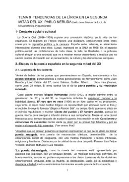 TEMA 8 Lírica - IES María de Córdoba