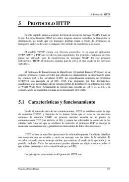 5.1 Características y funcionamiento
