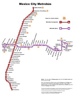 Metrobús  - Mexico City Metro System