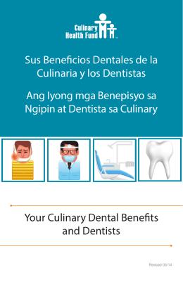Sus Beneficios Dentales de la Culinaria y los Dentistas Ang Iyong