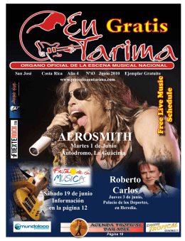 AEROSMITH - Blues Devils Band Costa Rica