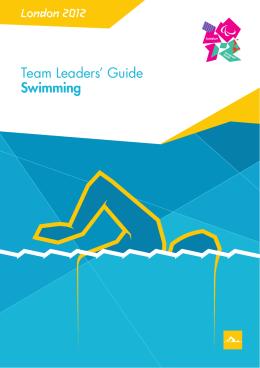 London 2012 Team Leaders` Guide Swimming