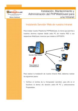 Instalación, Mantenimiento y Administración del PHPWebQuest