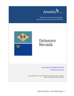 Delaware Nevada - Soluciones de creación de empresas offshore
