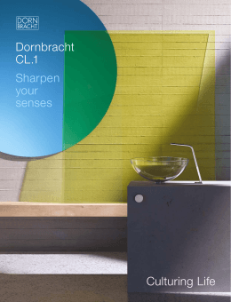 Culturing Life Dornbracht 1 Sharpen your senses