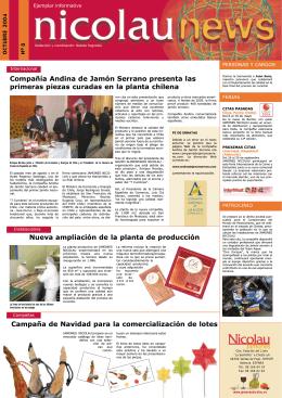 Compañía Andina de Jamón Serrano presenta