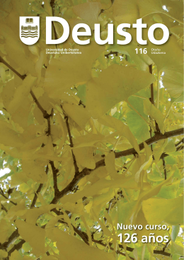 Revista Deusto 116 (otoño - udazkena. 2012)