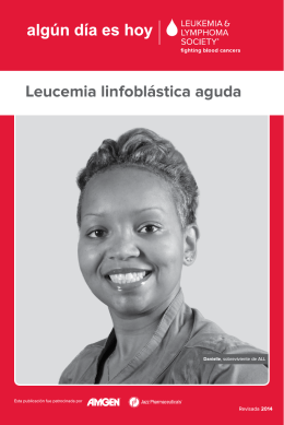 Leucemia linfoblástica aguda - Leukemia & Lymphoma Society