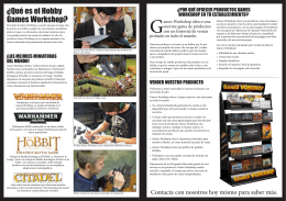 SPA_Trade Brochure_LR - Games Workshop | Retailers