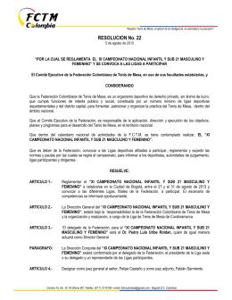 Descargar  - Federación Colombiana de Tenis de Mesa