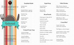 Restaurante - Hotel Colinas del Sol