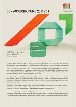 Convocatoria 01 - Museo de las Mujeres