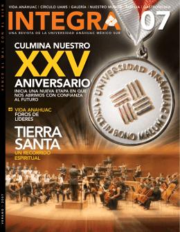 tIErrA SANtA - Universidad Anáhuac México Sur