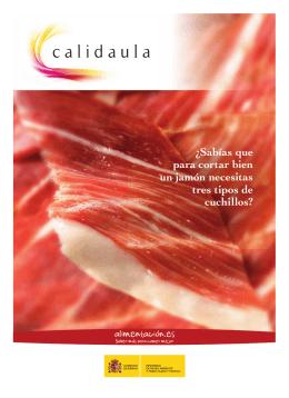 Descargar folleto Calidaula-Corte jamón