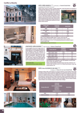 HOTEL Intur ALCAZAR DE SAN JUAN ****