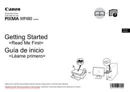 Canon PIXMA MP480 printer user guide manual Operating